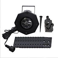 baratos Focos-YWXLIGHT® 1conjunto 6 W Focos de LED Impermeável / Decorativa 100-240 V Exterior / Decoração de Casamento / Sala de Estar / Jantar 6 Contas LED