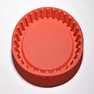 tanie Narzędzia Cookie-Narzędzia do pieczenia Silikon Nowoczesne / Kreatywny gadżet kuchenny Kuchnia Zaokrąglony Przybory deserowe 1 szt.