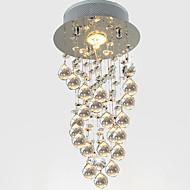 billiga Belysning-LightMyself™ Kristall Hängande lampor Fluorescerande Rektangulär Kristall Kristall 110-120V / 220-240V Glödlampa inkluderad / GU10