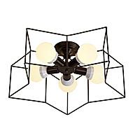 billige Taklamper-OYLYW 5-Light Skyllmonteringslys Omgivelseslys Malte Finishes Metall Kreativ, Nytt Design 110-120V / 220-240V