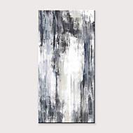 Hang målad oljemålning HANDMÅLAD - Abstrakt Klassisk Moderna Utan innerram / Valsad duk