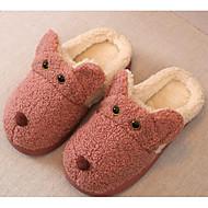 baratos Sapatos de Menino-Para Meninos / Para Meninas Sapatos Algodão Inverno Conforto Chinelos e flip-flops para Infantil Café / Pêssego / Rosa claro