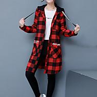 Camicia Per donna Essenziale / Moda città A scacchi