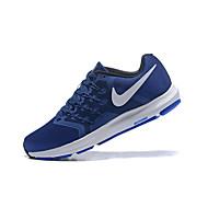 baratos Sapatos Masculinos-Homens Sapatos Confortáveis Tecido elástico Primavera & Outono Tênis Respirável Azul Real / Atlético / Absorção de choque