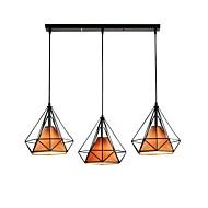 billige Takbelysning og vifter-3-Light Cone / Industriell Anheng Lys Omgivelseslys Malte Finishes Metall Reb, Kreativ 110-120V / 220-240V