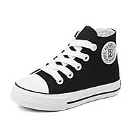 Αγορίστικα Παπούτσια Πανί Φθινόπωρο Ανατομικό Αθλητικά Παπούτσια για Εφηβικό Λευκό / Μαύρο / Κόκκινο