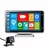 お買い得  車載DVR-Vasens 1080p 新デザイン / デュアルレンズ / ブート自動録音 車のDVR 170度 広角の 5 インチ IPS ダッシュカム とともに WIFI / GPS / G-Sensor 4 赤外線LED カーレコーダー