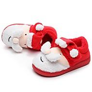 baratos Sapatos de Menina-Para Meninas Sapatos Algodão Inverno Conforto Chinelos e flip-flops para Infantil / Adolescente Vermelho