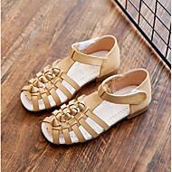 baratos Sapatos de Menino-Para Meninos / Para Meninas Sapatos Couro Sintético Verão Conforto Sandálias para Infantil Preto / Bege / Marron