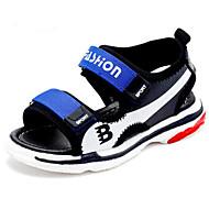 baratos Sapatos de Menino-Para Meninos Sapatos Sintéticos Verão Conforto Sandálias para Infantil / Adolescente Amarelo / Azul / Preto / Vermelho