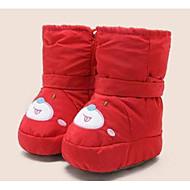 baratos Sapatos de Menina-Para Meninas Sapatos Couro Ecológico Inverno Conforto / Primeiros Passos Botas para Bebê Azul Escuro / Vermelho / Azul Claro / Botas Cano Médio