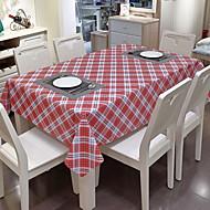 billige Duker-Moderne / Fritid 100g / m2 Polyester Strik Stretch Kvadrat Duge Geometrisk Borddekorasjoner 1 pcs