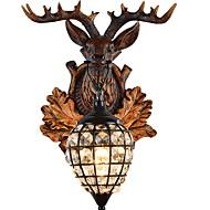 billige Taklamper-Kreativ Retro / vintage Vegglamper Innendørs / butikker / cafeer Harpiks Vegglampe 220-240V 40 W