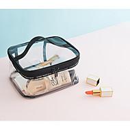 billige Lagring og oppbevaring-PVC Rektangulær Bære Hjem Organisasjon, 1pc Makeup Oppbevaring / Piker og unge damer / Kosmetisk Bag