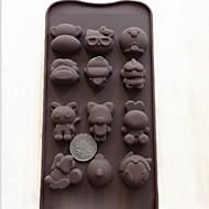 tanie Narzędzia Cookie-Narzędzia do pieczenia Silikon Kreatywny gadżet kuchenny Kuchnia Kwadrat Przybory deserowe 1 szt.