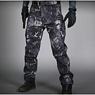 男性用 ストリートファッション アジア人サイズ チノパン パンツ - 動物 ブラック