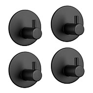 cheap -Bathroom Accessory Set / Towel Bar / Robe Hook Self-adhesive Antique Stainless steel 4pcs - Bathroom Wall Mounted