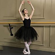 Ballet Black Swan 1950s Layered Costume Women's Dress Tutu Bubble Skirt Under Skirt White / Black Vintage Cosplay Christmas Party Halloween Sleeveless Sleeveless Spag Short Length