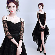 cheap -Black Swan Dress Women's Movie Cosplay Black Dress Halloween Carnival Masquerade Lace Cotton Embroidery