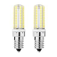 2pcs 5 W 300 lm E14 LED-maïslampen T 104 LED-kralen SMD 3014 Aanbiddelijk Warm wit Koel wit 220-240 V