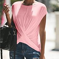 Pentru femei Mărime Plus Size Tricou Mată Roz Îmbujorat XXXL