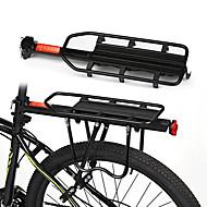 Bisiklet Kargo Rafı Arka raf Ayarlanabilir Kolay Takılabilen Çabuk Açılma alaşım Yol Bisikleti Dağ Bisikleti - Siyah