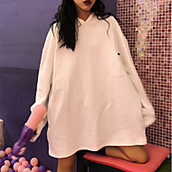 Women's Hoodie - Solid Colored White One-Size