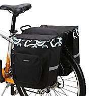 ROSWHEEL 30 L Fahrrad Kofferraum Tasche / Fahrradtasche Fahrrad Kofferraum Taschen Einstellbar Hohe Kapazität Wasserdicht Fahrradtasche Maschen 600D Polyester Tasche für das Rad Fahrradtasche Rennrad