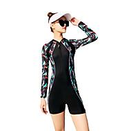 女性用 水着 速乾性 YKKジッパー 伸縮性 ナイロン スパンデックス スイムウェア ビーチウェア ボディスーツ 仕様 水泳 サーフィン スタンドアップパドルボード