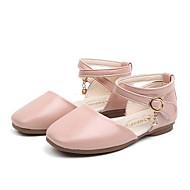 Genç Kız Ayakkabı PU Bahar Rahat Düz Ayakkabılar için Bebek (9 milyon 4ys) Siyah / Bej / Pembe