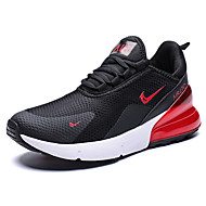 cheap -Men's Comfort Shoes Faux Leather Spring & Summer Sporty / Preppy Athletic Shoes Running Shoes / Walking Shoes Breathable Black / White / Black / Red / White / Non-slipping