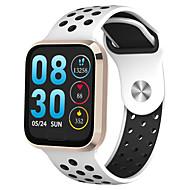 povoljno -Smart Satovi Šiljci za meso Moderna Sportski Silikon 30 m Vodootpornost Heart Rate Monitor Bluetooth Šiljci za meso Ležerne prilike Outdoor - Crn Zlatna Pink