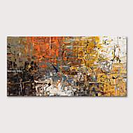 billige -Hang malte oljemaleri Håndmalte - Abstrakt Abstrakte Landskap Moderne Uten Indre Ramme