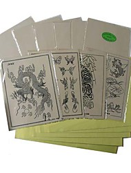 cheap -10 x TATTOO PRACTICE SKINs and 20 x TRANSFER PAPER