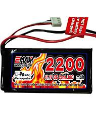 economico -Emax 2200mah 3s 11.1v 30c Li-polimeri di litio con connettore t (ex0025)