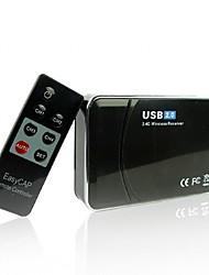 Câmara de vigilância sem fio do receptor de câmera usb 2.0 para segurança doméstica