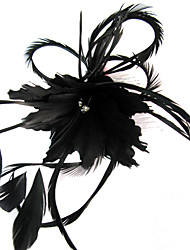 cheap -Women's Feather Headpiece-Wedding Special Occasion Casual Outdoor Fascinators Flowers
