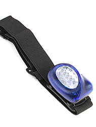 5 LED Headlamps Headlight Flashlights / Torch  3XAAA 1 Mode -Blue