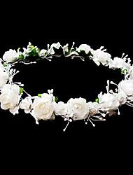 Недорогие -заставки свадьбы девушки цветка венок с прекрасными цветами