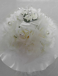 Artificial Flower/ Lace With Music Box Wedding Ring Pillow Wedding Ceremony