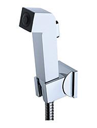 abordables -main bidet de pulvérisation blanc, sans tuyau d'alimentation et support de douche