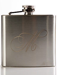 cheap -Personalized Stainless Steel Barware & Flasks Hip Flasks Groom Groomsman Wedding Anniversary Birthday