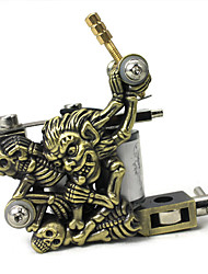 cheap -Coil Tattoo Machine Hand-assembled Liner and Shader Alloy Professional Tattoo Machine
