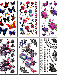 Χαμηλού Κόστους -#(6) Μοτίβο Άλλα Αυτοκόλλητα Τατουάζ