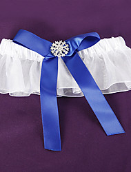 cheap -Cotton Leg Warmers / Wedding Wedding Garter 617 White Bow / Lace Garters / Others Wedding / Party / Evening