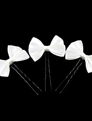 cheap -Lovely Satin Bow Flower Girl Hairpins/Headpiece (Set of 3) Elegant Style