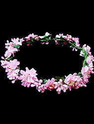 billige -Krystal / Stof / Papir Tiaras / Blomster med 1 Bryllup / Speciel Lejlighed / Fest / aften Medaljon