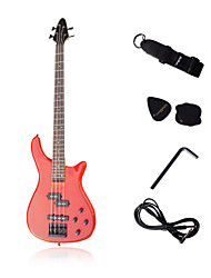 LX Bass with Accessories Red