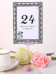 cheap -Personalized Table Number Card - Chrysanthemum