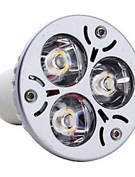 3W GU10 LED Spotlight MR16 3 High Power LED 300-350lm Warm White 3000K AC 85-265V